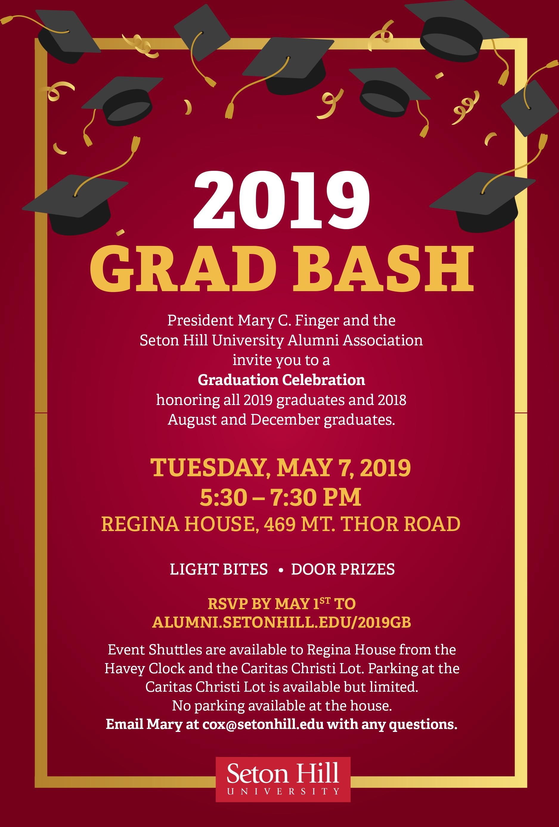 2019 Grad Bash - Seton Hill University